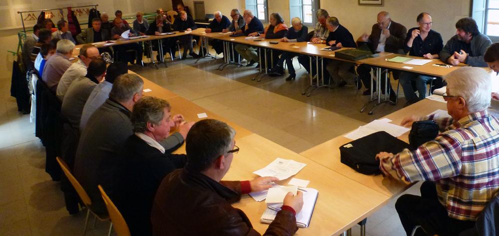 conseil communautaire élus Communauté de Communes du Pays Coulangeois