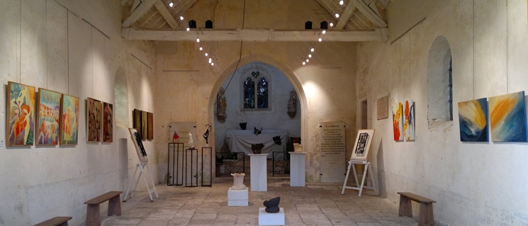 chapelle avigneau escamps expositions art contemporain yonne auxerrois